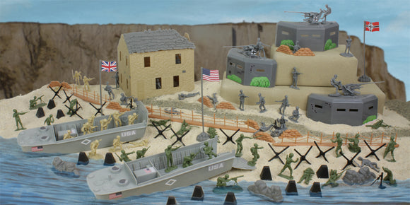 BMC Toys D-Day Normandy Boxed Playset