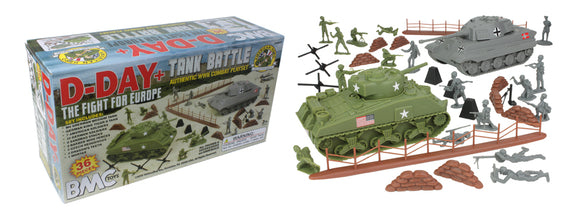 BMc Toys D-Day+ Tank Battle Playset