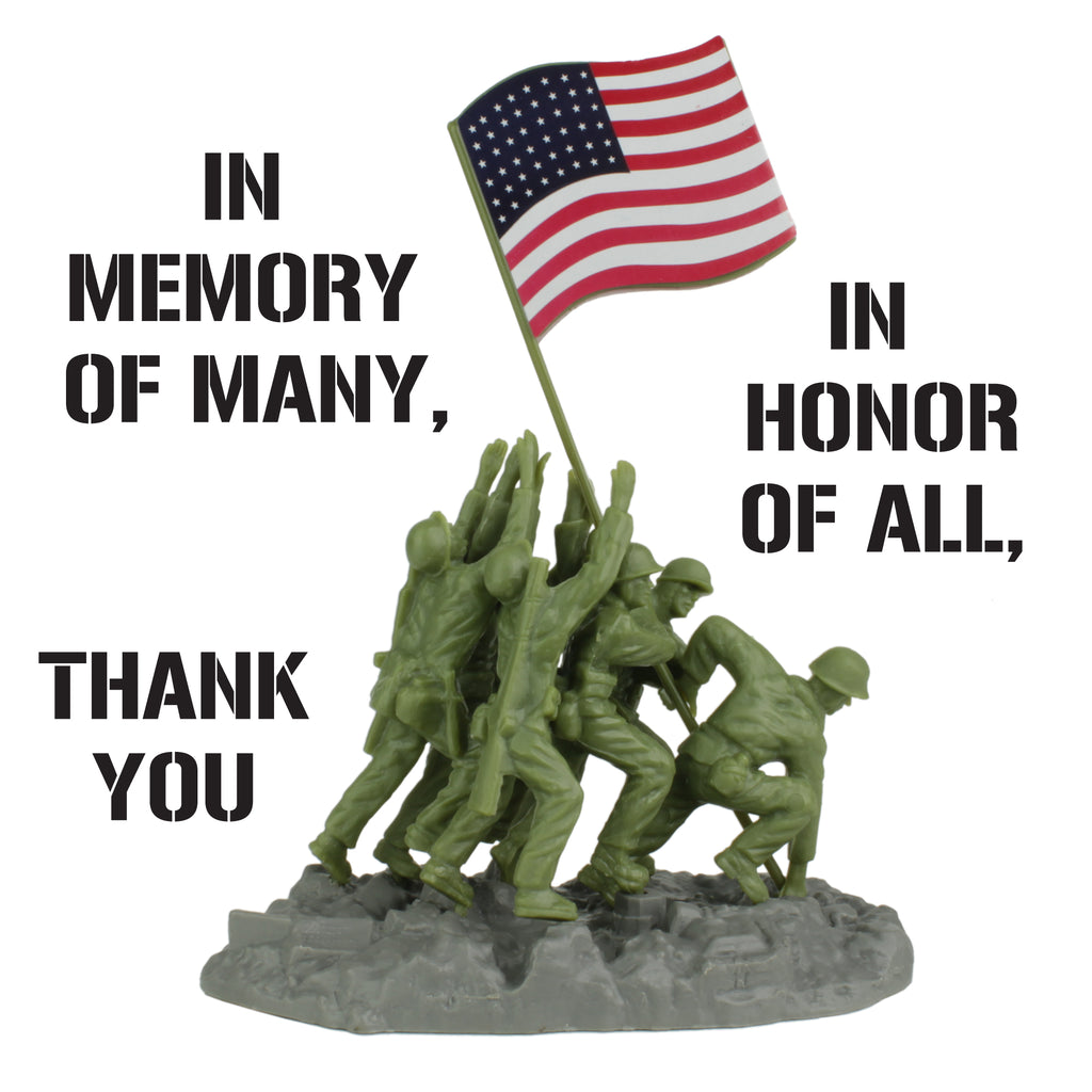 BMC Toys Memorial Day Salutation