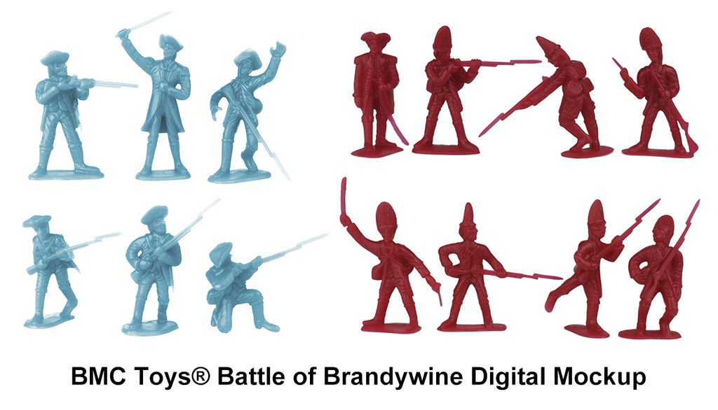 BMC Toys Battle of Brandywine Digital Mockup