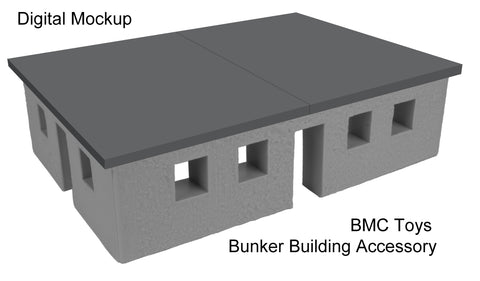 BMC Toys Bunker Building Flat Roof Concept