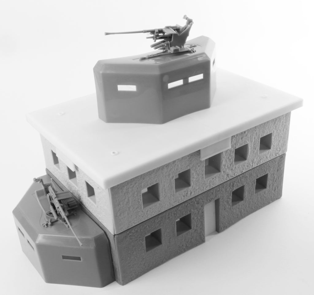 BMC Toys German Bunker with Pillboxes