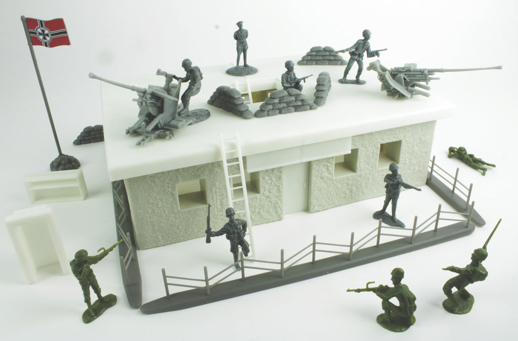 BMC Toys German Bunker Building Project Diorama