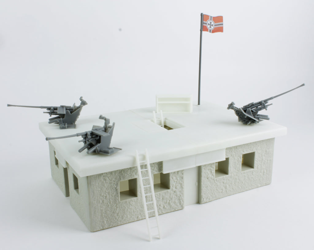BMC Toys German Bunker Building Prototype