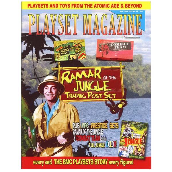 Playset Magazine issue # 52 Marx Big Inch Pipeline playsets