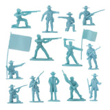 BMC Civil War Plastic Army Men - 32pc Battle of Petersburg Soldier Figures