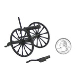 BMC Gatling Gun Toy Replica 2pc Set 1:32 Scale for 54mm Plastic Army Men Figures