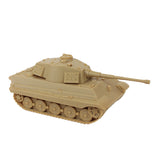 BMC German Army King Tiger Tank Toy: Tan 1:32 for 54mm Army Men Soldier Figures