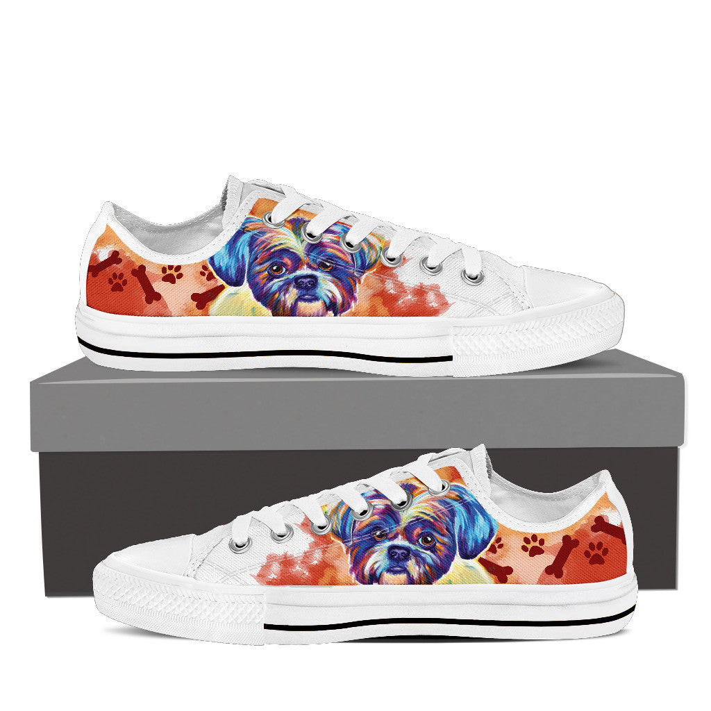 Shih Tzu II Low Tops
