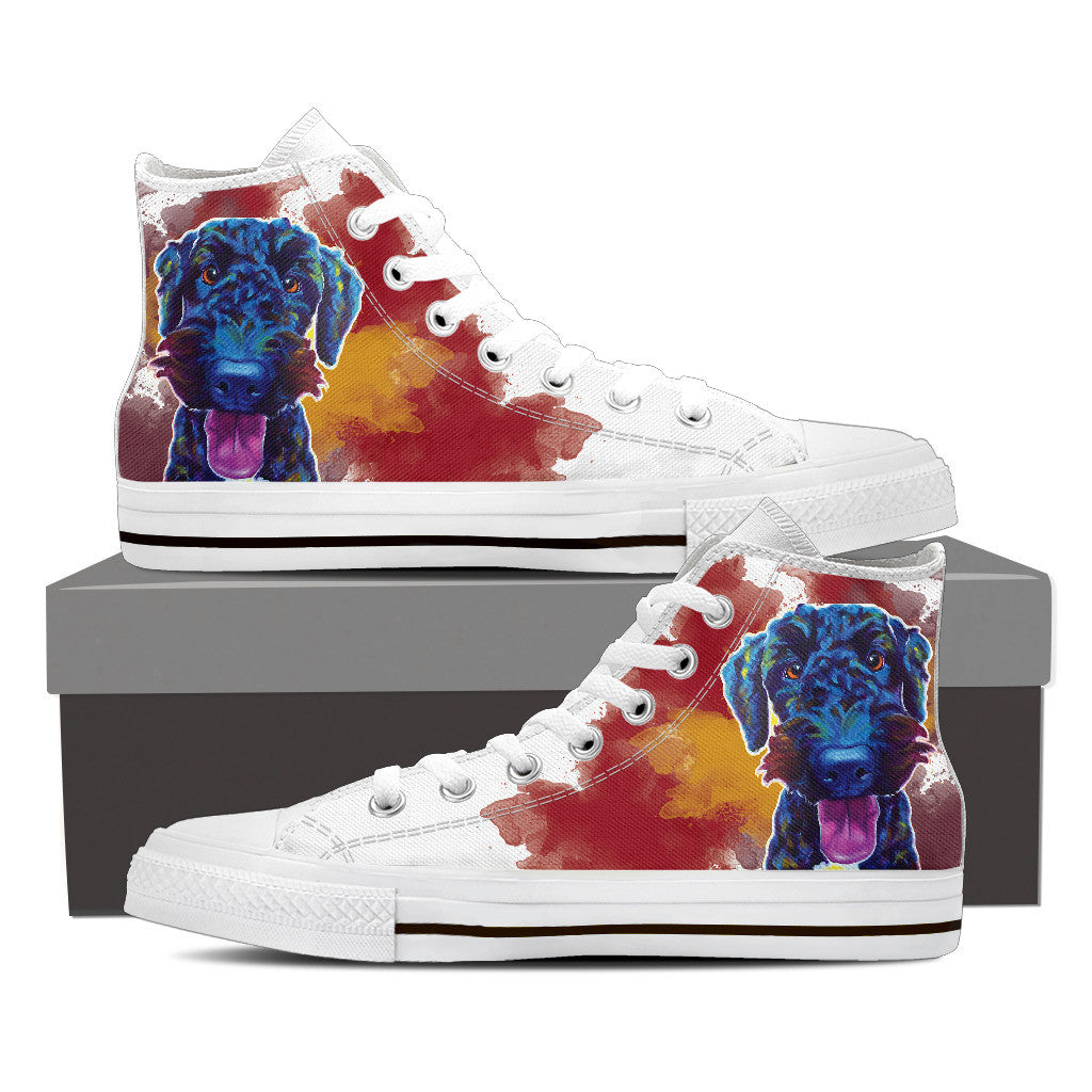 Airedoodle II High Tops