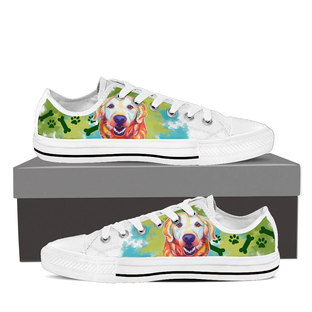 Golden Retriever Low Tops