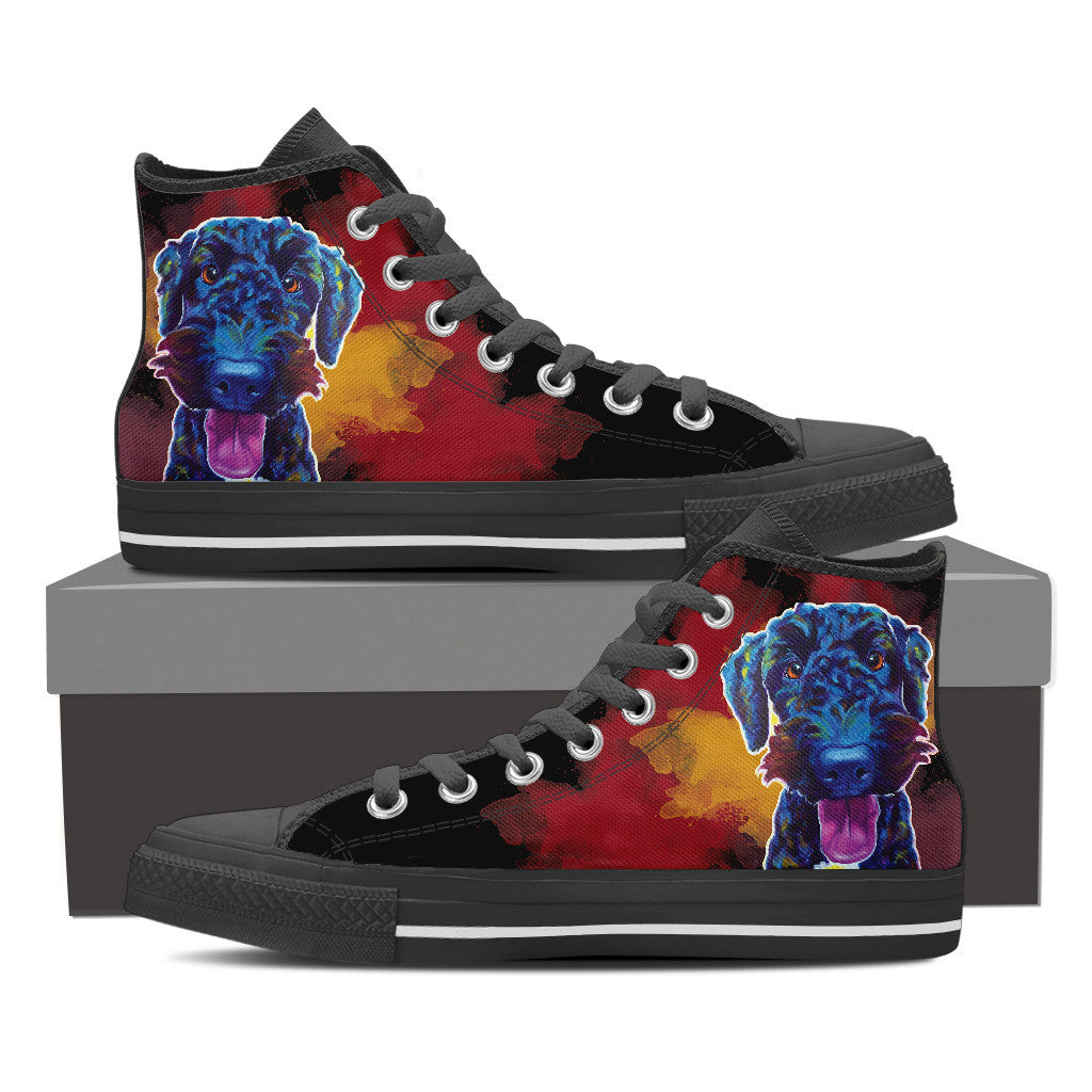 Airedoodle II High Tops (Black)