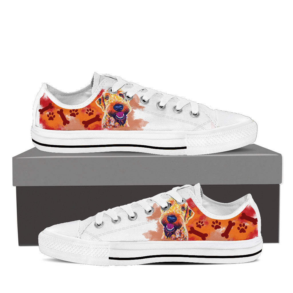 Airedoodle Low Tops