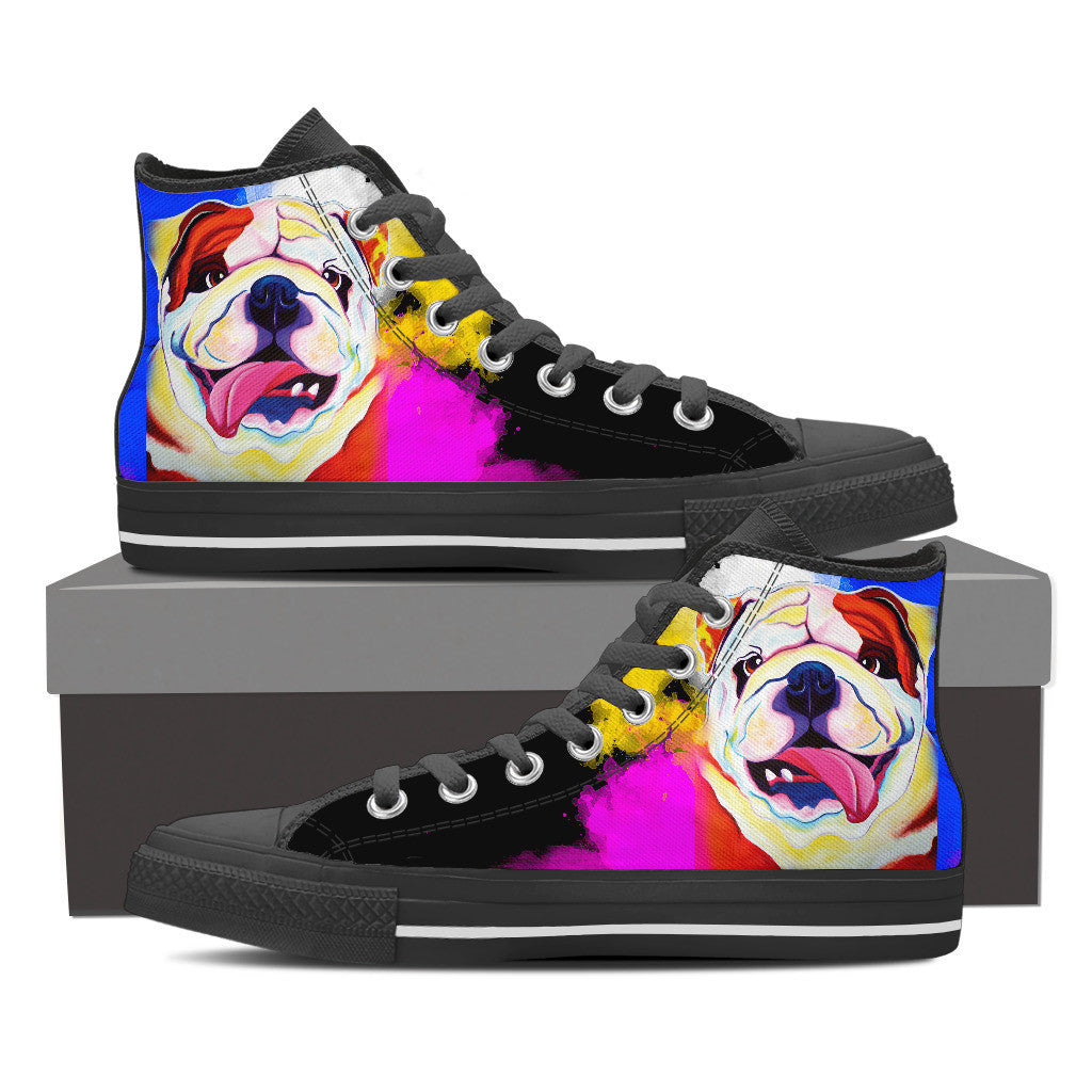 Bulldog High Tops (Black)