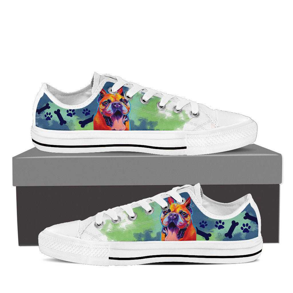 French Bulldog II Low Tops