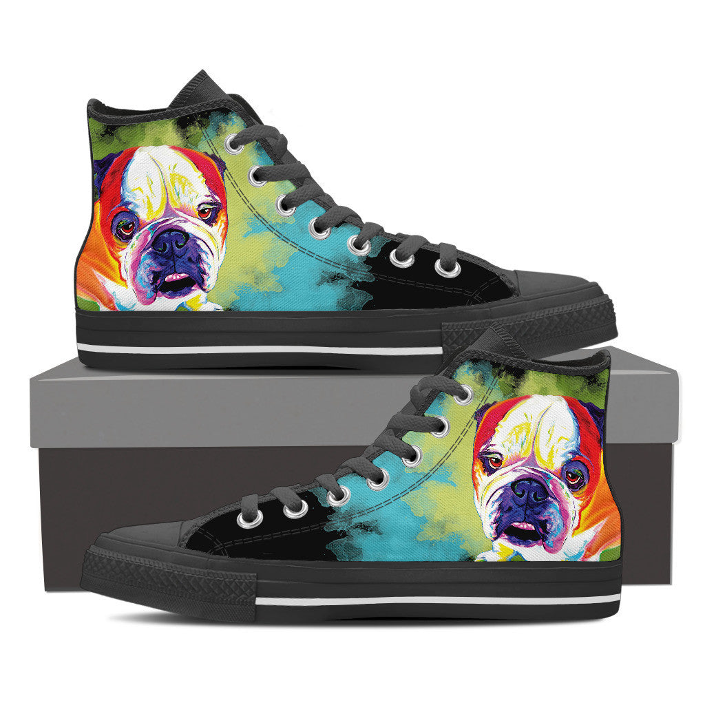 Bulldog II High Tops (Black)