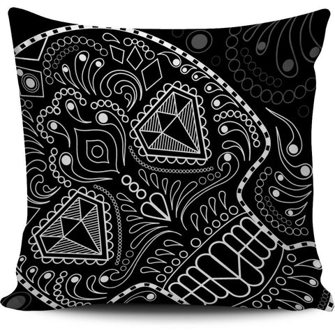 Black and White Skull Series Pillow Covers