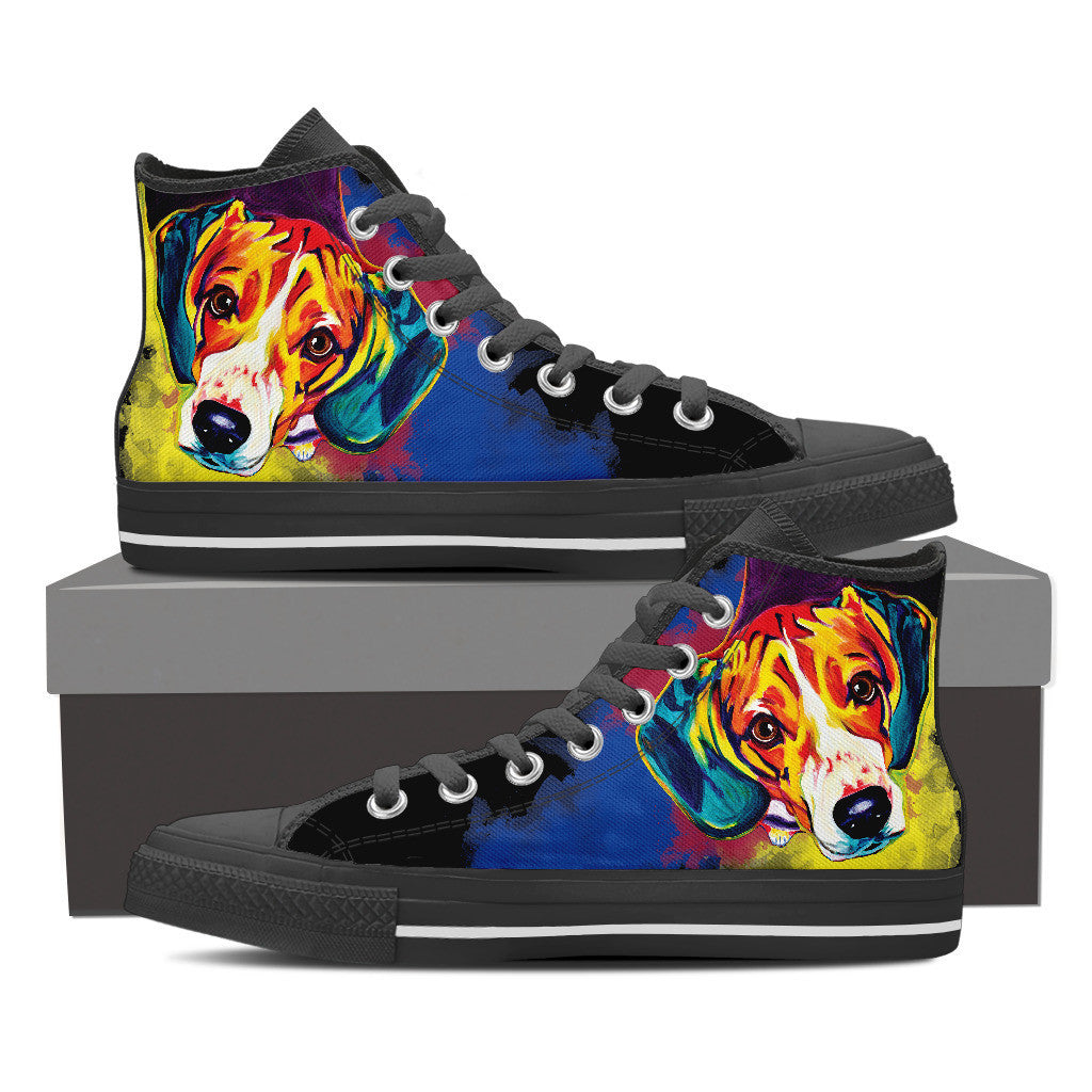 Beagle High Tops (Black)