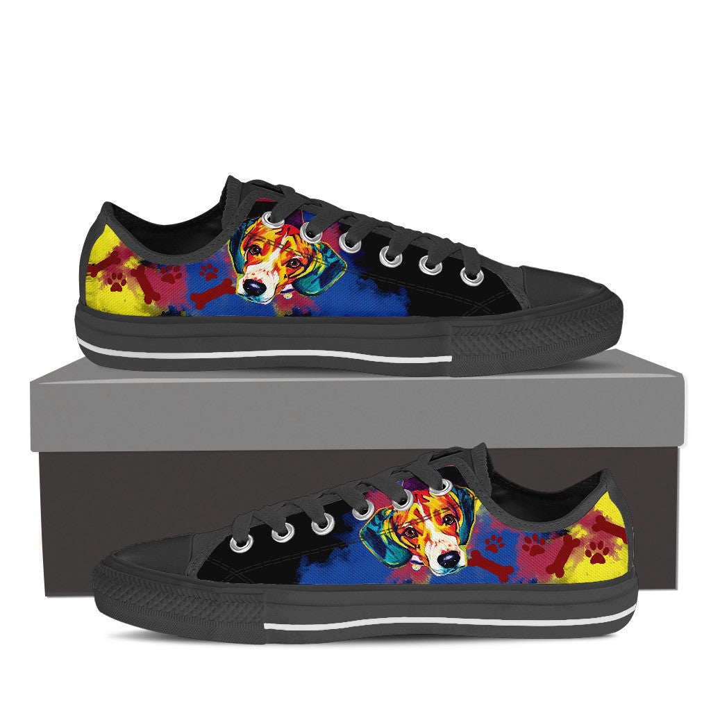 Beagle Low Tops (Black)