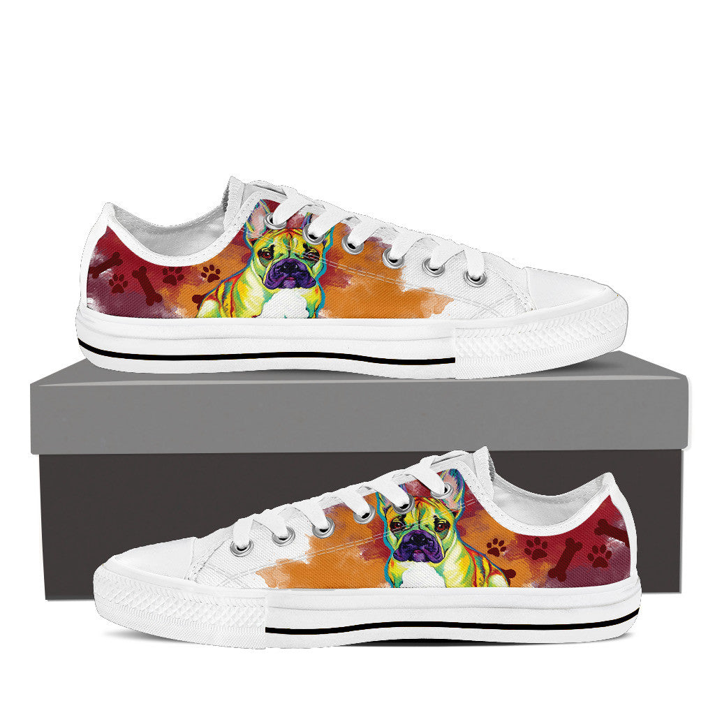French Bulldog Low Tops