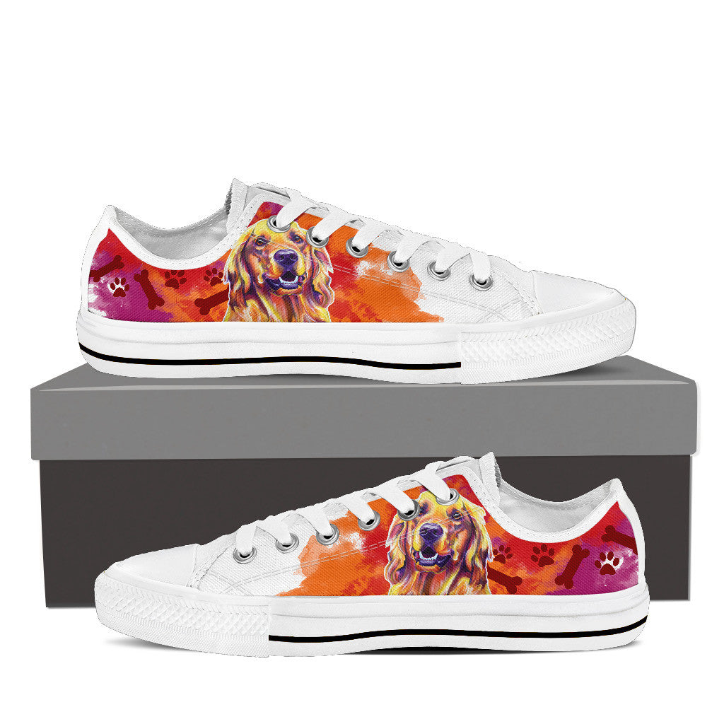 Golden Retriever II Low Tops