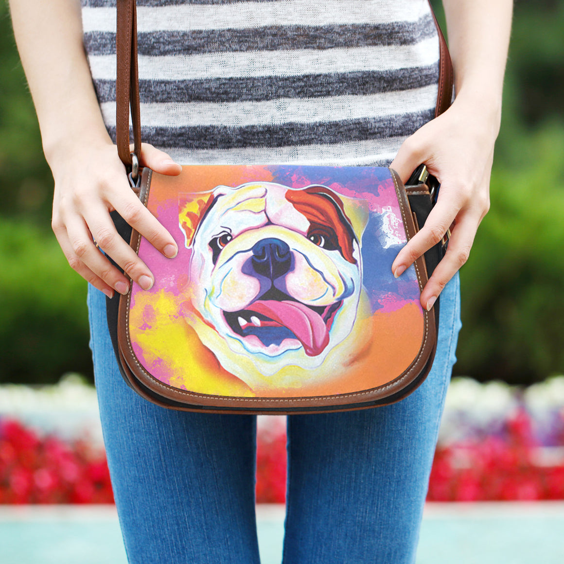 Bulldog Saddle Bag
