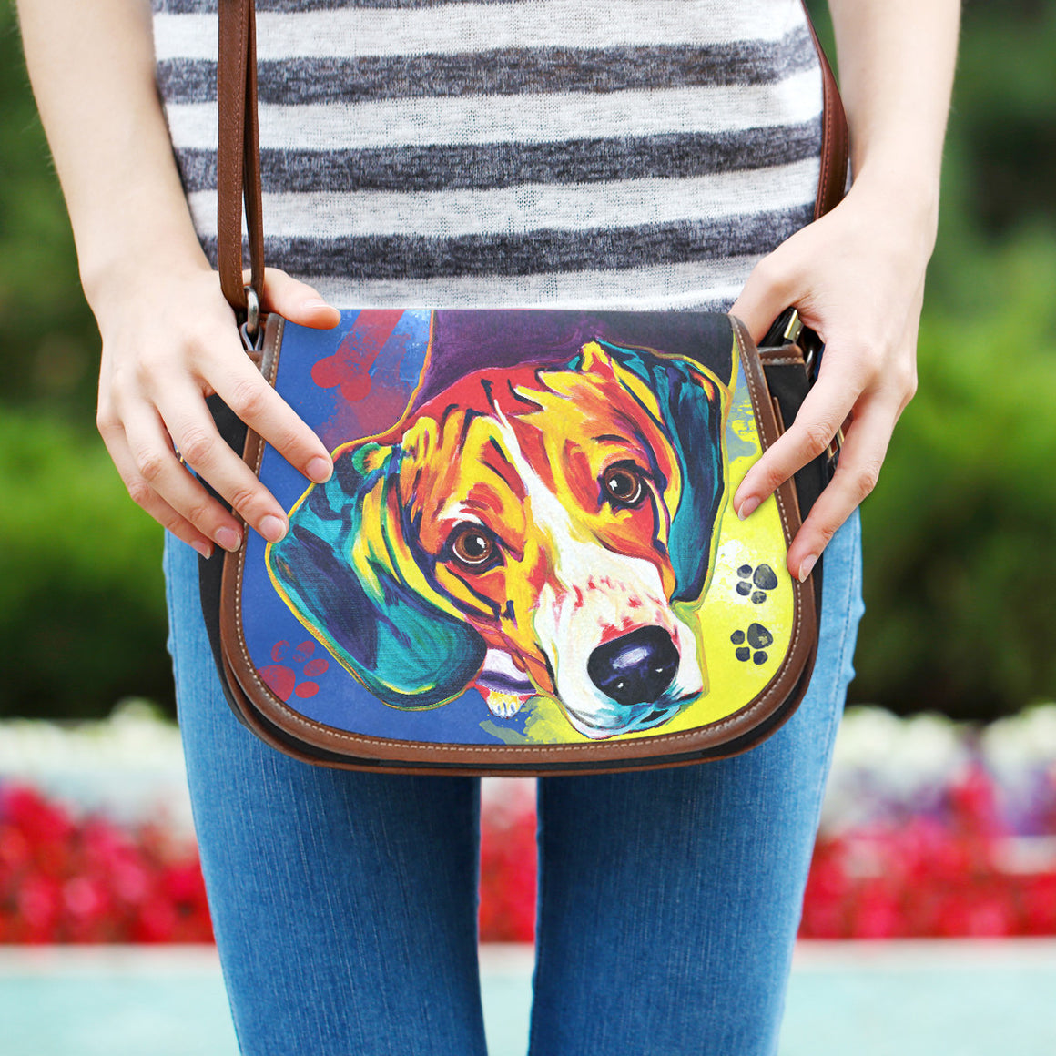 Beagle Saddle Bag