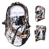 Camo Thermal Fleece Face Mask - Teeternal - 2