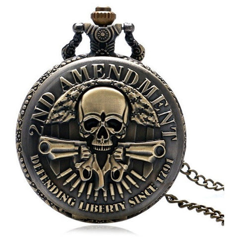 2nd Amendment Pocket Watch - Teeternal - 1