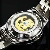 Casual Stainless Steel Mechanical Watch