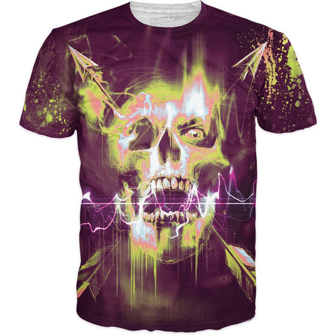 Electric Skull T-Shirt