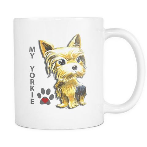 My Yorkie Mug - Teeternal - 1