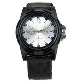 Military Style Canvas Belt Luminous Quartz Watch - Teeternal - 5