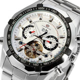 Stainless Steel Automatic Watch - TEETERNAL - 4