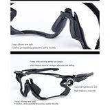 Polarized Magnetic Buckle Sunglasses