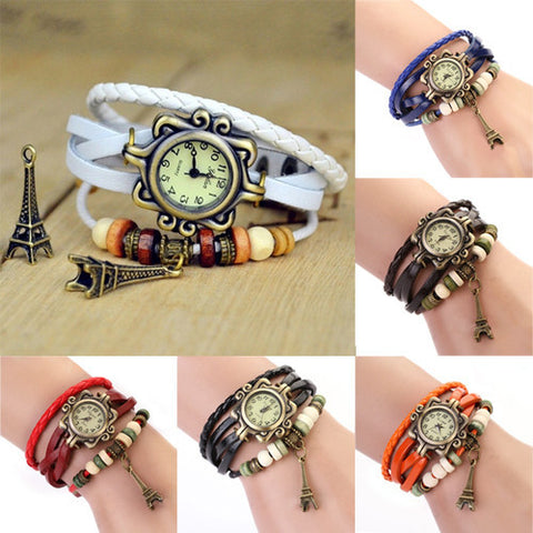 Vintage Eiffel Tower Bracelet Watch - Teeternal - 1