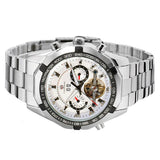 Stainless Steel Automatic Watch - TEETERNAL - 6
