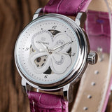 Lucky Clover Ladies Mechanical Watch