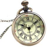 Antique Bronze Roman Pocket Watch - Teeternal - 4