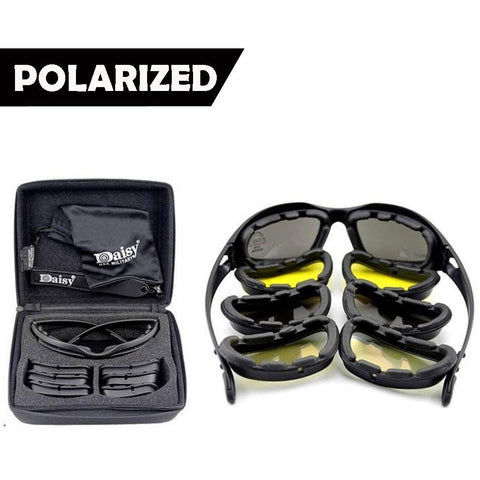 Polarized Military Sunglass Goggles