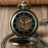 Steampunk Poker Mechanical Pocket Watch | TEETERNAL - 2