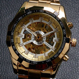 Antique Golden Mechanical Watch