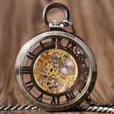 Open Face Mechanical Pocket Watch | TEETERNAL - 1