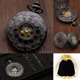 Hollow Mechanical Pocket Watch | TEETERNAL - 11