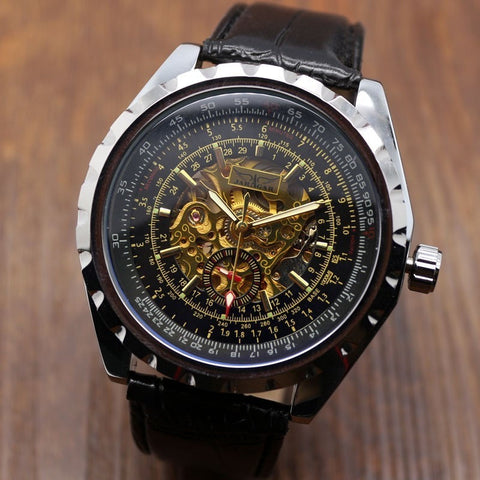 Photochromic Glass Mechanical Watch - Teeternal - 1