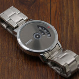 Turnable Dial Steel Band Watch - Teeternal - 10