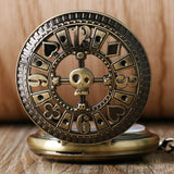 Steampunk Poker Mechanical Pocket Watch | TEETERNAL - 3