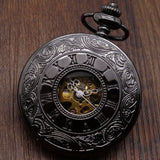 Hollow Mechanical Pocket Watch | TEETERNAL - 5