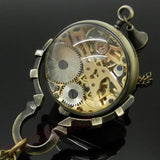 Glass Mechanical Pocket Watch | TEETERNAL - 2