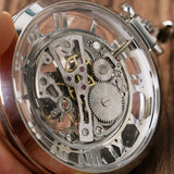Open Face Mechanical Pocket Watch | TEETERNAL - 9